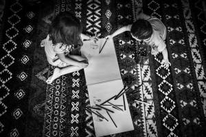 didattica_laboratorio_bambini_disegnare_suoni_castello-di-padernello_brescia